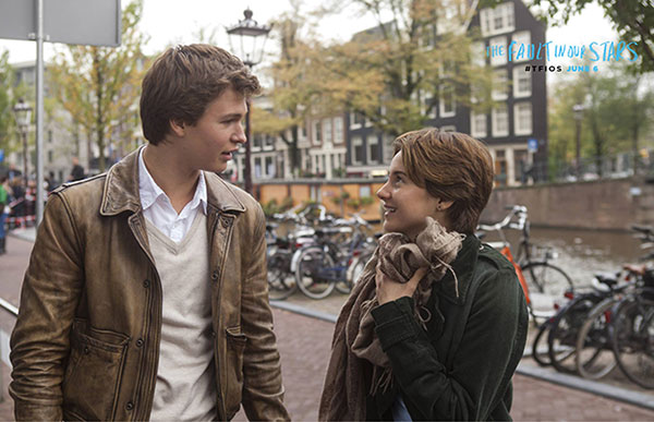 Shailene Woodley and Ansel Elgort - The Fault in Our Stars