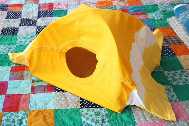 Tent แมว เสื้อยืด