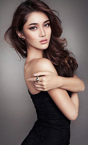 Wang Xi Ran Miss Universe China 2013
