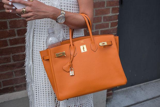 กระเป๋า Hermes สีส้ม