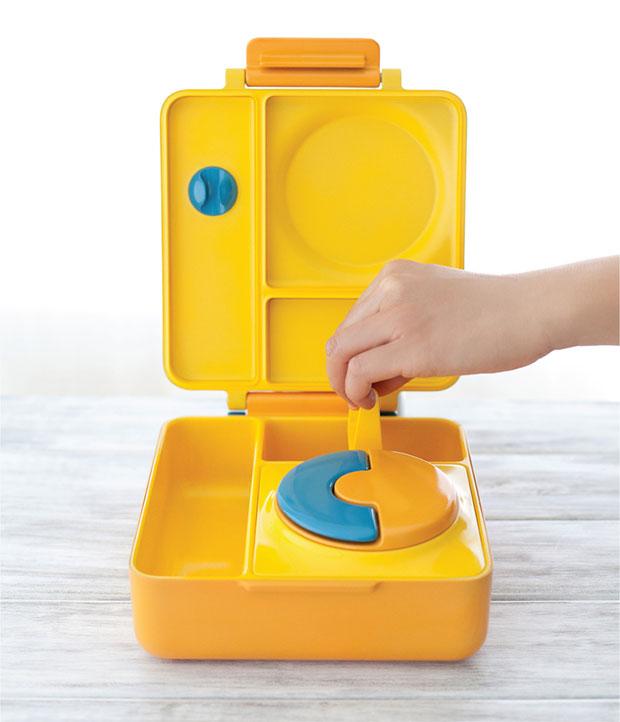 กล่องข้าวสำหรับเด็ก ปรับเปลี่ยนตัวคั่นได้ OmieBox