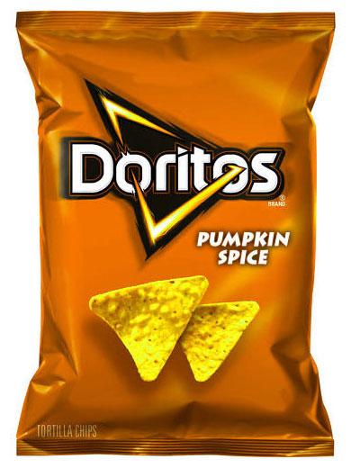 ขนม Doritos กลิ่นครื่องเทศฟักทอง
