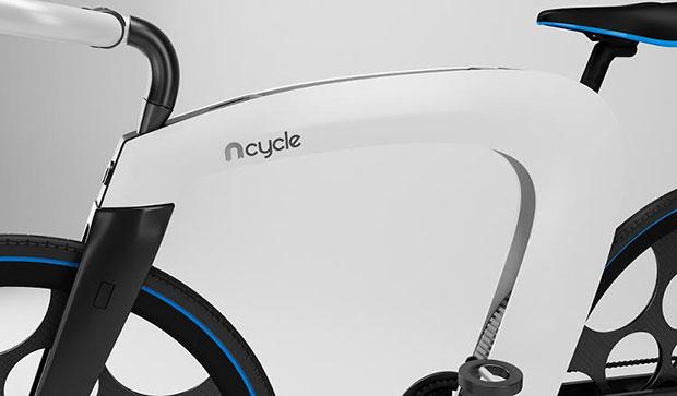 จักรยาน nCycle ซ่อนที่เก็ยของ
