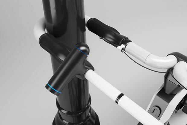 จักรยาน nCycle - ตัวล็อคจักรยาน