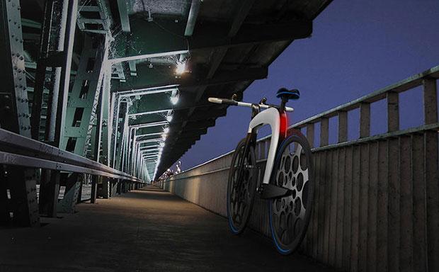 จักรยาน nCycle - ล็อคด้วยแฮนด์จักรยาน