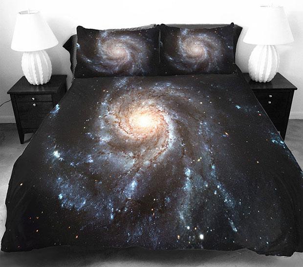 ชุดผ้าปูที่นอน ลายกาแล็กซี่