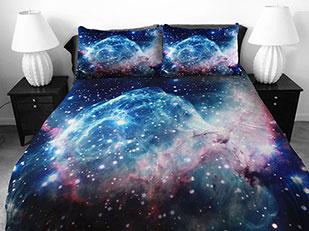 ชุดผ้าปูที่นอน อวกาศ