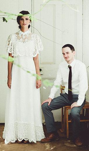 ชุดแต่งงานวินเทจ