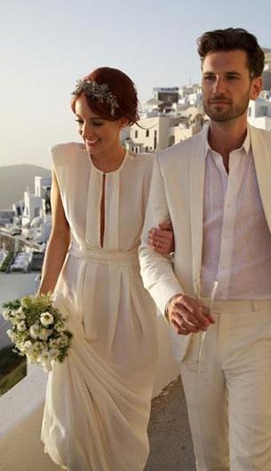 ชุดแต่งงานเรียบๆดูดีมีสไตล์