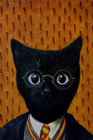 ตกแต่งภาพถ่ายแมว