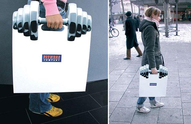 ถุงช้อปปิ้ง ที่ยกน้ำหนัก