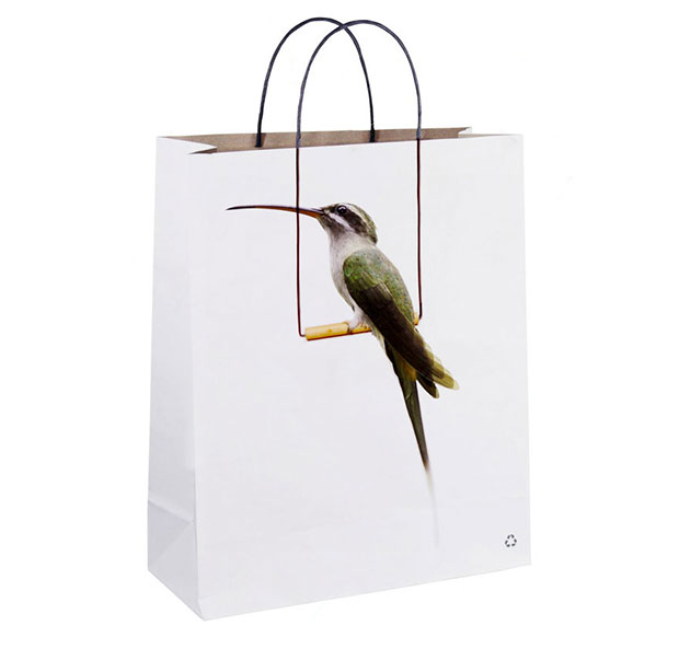 ถุงช้อปปิ้ง นก