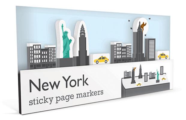 ที่คั่นหนังสือ นิวยอร์ก