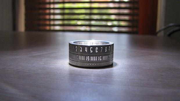นาฬิกา แหวน Ring Clock