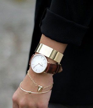 นาฬิกา Classic Bristol Rose Gold Daniel Wellington