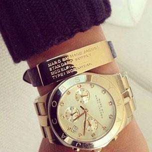 นาฬิกา Marc Jacobs กำไล Tag