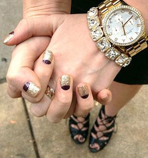 นาฬิกา Marc Jacobs สร้อยข้อมือเพชร