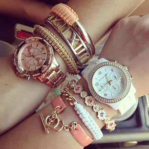 นาฬิกา Michael Kors Arm Party