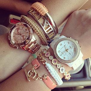 นาฬิกา Michael Kors Arm Party