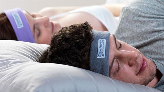 ผ้าคาดศีรษะ หูฟัง SleepPhones