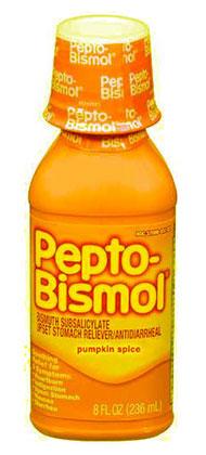 ยาลดกรดในกระเเพาพอาหาร Pepto Bismol กลิ่นครื่องเทศฟักทอง