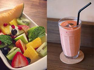 ร้านอาหาร Tiny Cup Cafe อาหารเพื่อสุขภาพ