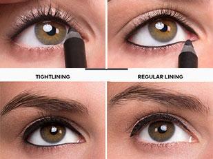 วิธีเขียนตา Tightline Eyes