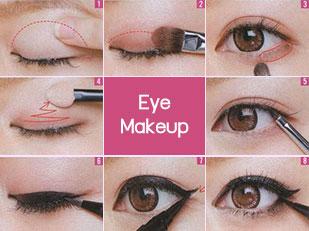 วิธีเขียนตา step by step