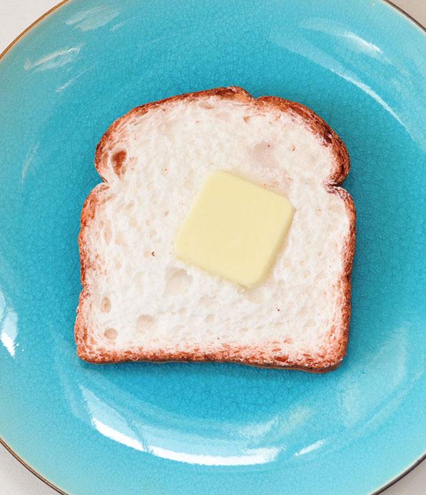 สบู่รูปของกิน ขนมปังทาเนย