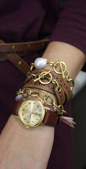 สร้อยข้อมือ Ellie, Minny นาฬิกา Casio