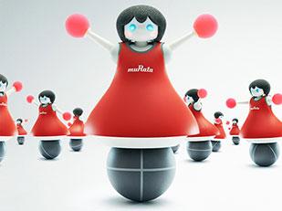 หุ่นยนต์เชียร์ลีดเดอร์ มูราตะ