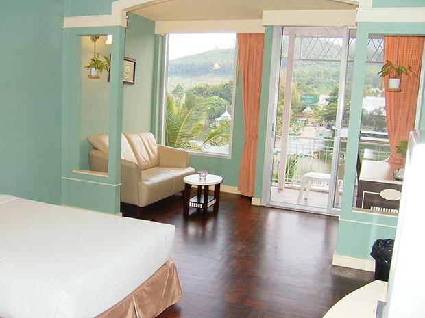 ห้องพัก Lake View B