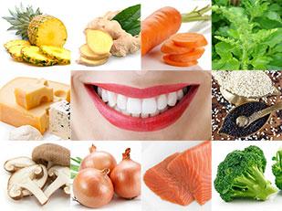 อาหารที่ทำให้ฟันขาว