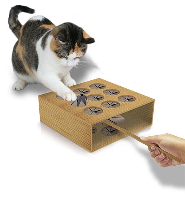 เกมส์ตีตัวตุ่นของแมว