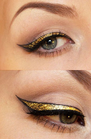 เขียนตา สีทอง