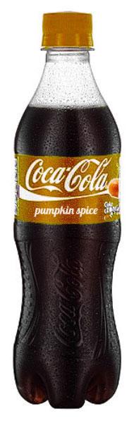 เครื่องดื่ม Coke กลิ่นเครื่องเทศฟักทอง