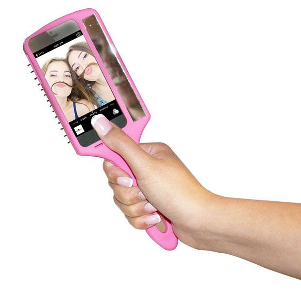 เคสไอโฟน หวีสีชมพู