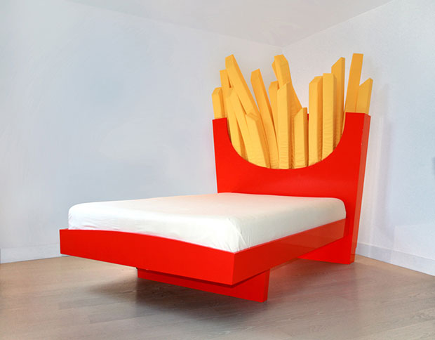 เตียงนอนเฟรนช์ฟรายส์