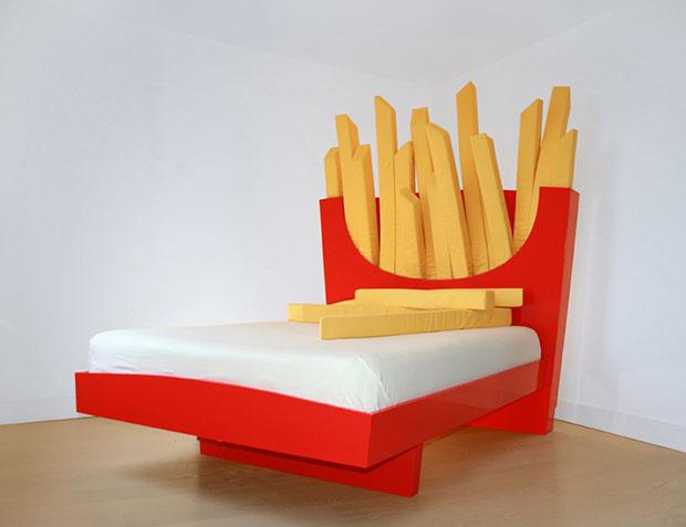 เตียงนอน แมคโดนัลด์ เฟรนช์ฟรายส์