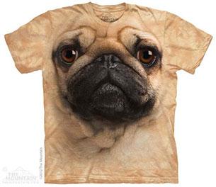 เสื้อยืด หมา ปั๊ก