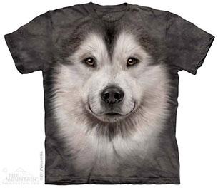 เสื้อยืด หมา Alaskan Malamute