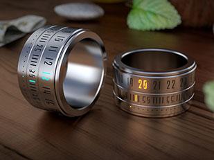 แหวน นาฬิกา Ring Clock