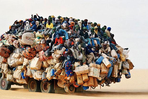 แอฟริกา รถขนของ เกินขนาด
