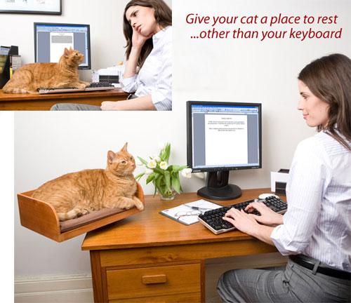 โต๊ะทำงานเสริมของแมว