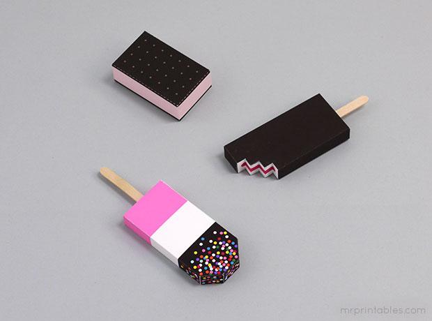 ไอศกรีมแท่งกระดาษ