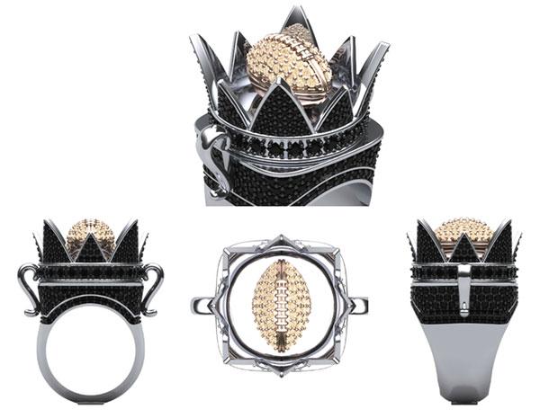 Crown Ring - Black Diamond Edition