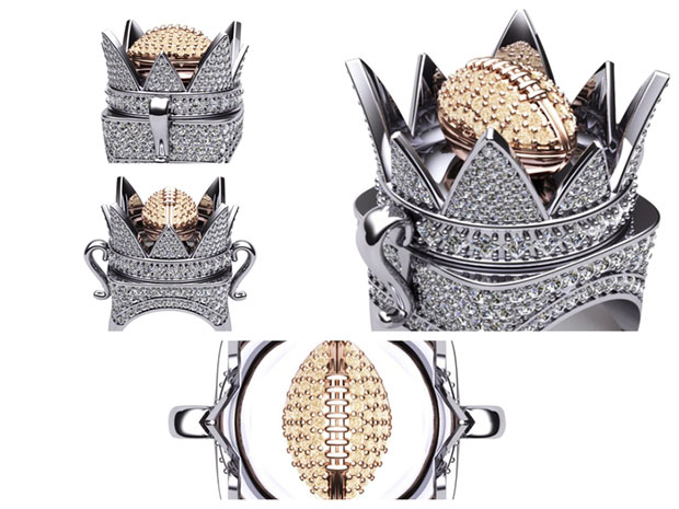 Crown Ring - Iced Edition