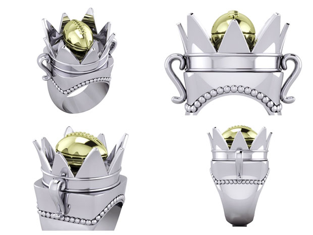 Crown Ring - Silver Edition