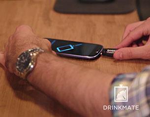 DrinkMate เครื่องวัดปริมาณแอลกอฮอล์ ผ่านมือถือ