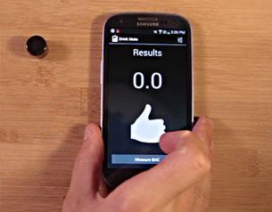 DrinkMate เครื่องวัดปริมาณแอลกอฮอล์ ผ่าน Android